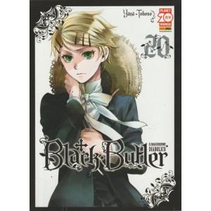 Black Butler il maggiordomo diabolico- numero 20 - manga - panini comics