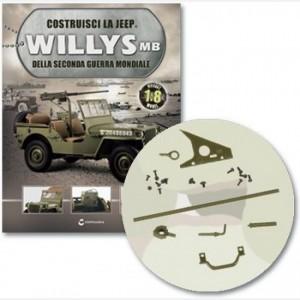 Costruisci la Jeep Willys MB Telaio sx e dx della coda dx, coda dx, base gancio dx, gancio connessione, fissaggi