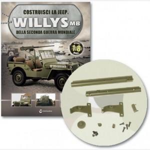 Costruisci la Jeep Willys MB Connettore, telaio e dettagli canna posteriore, canna anteriore, canna posteriore