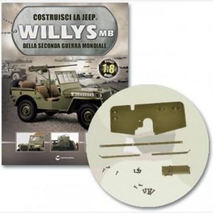 Costruisci la Jeep Willys MB Albero cannone, telaio principale sx e dx del cannone, assale connessione, telaio