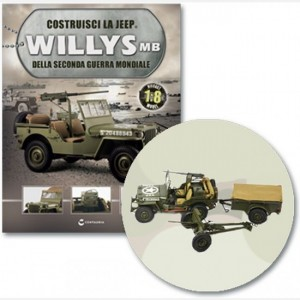 Costruisci la Jeep Willys MB Cassetta attrezzi, proiettili, accessori e coperchio cassetta attrezzi
