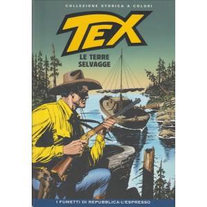 Tex Collezione Storica a colori - Le terre selvagge - I fumetti di Repubblica