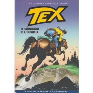 Tex Collezione Storica a colori - Il coraggio e l'infamia - I fumetti di Repubblica