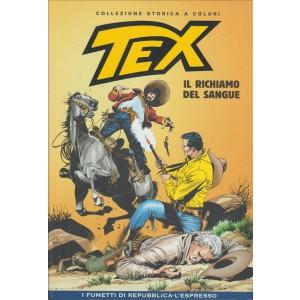 Tex Collezione Storica a colori - Il richiamo del sangue - I fumetti di Repubblica
