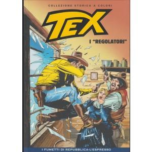"""Tex Collezione Storica a colori - I """"Regolatori"""" - I fumetti di Repubblica"""
