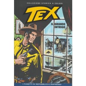 Tex Collezione Storica a colori - Il grande intrigo - I fumetti di Repubblica