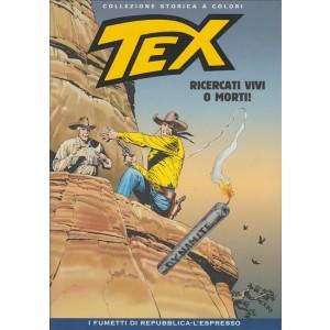 Tex Collezione Storica a colori - Ricercati vivi o morti! - I fumetti di Repubblica
