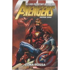 The Avengers serie oro - Zona Rossa - numero 16 Marvel