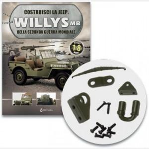 Costruisci la Jeep Willys MB La balestra posteriore destra