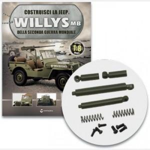 Costruisci la Jeep Willys MB Gli ammortizzatori posteriori