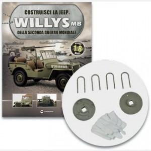 Costruisci la Jeep Willys MB I cavallotti, i supporti dei ceppi dei freni del retrotreno e i guanti
