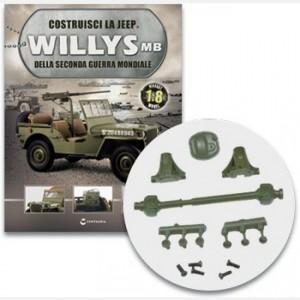 Costruisci la Jeep Willys MB Il differenziale e l'albero di trasmissione posteriori