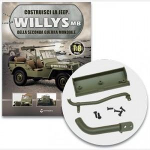 Costruisci la Jeep Willys MB Le parti del sistema frenante