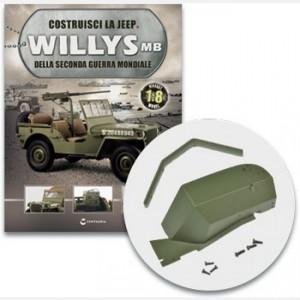 Costruisci la Jeep Willys MB Il parafango anteriore sinistro