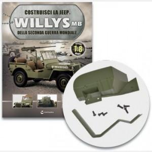 Costruisci la Jeep Willys MB Il parafango anteriore destro