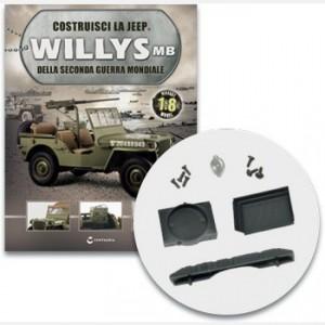 Costruisci la Jeep Willys MB I componenti del radiatore