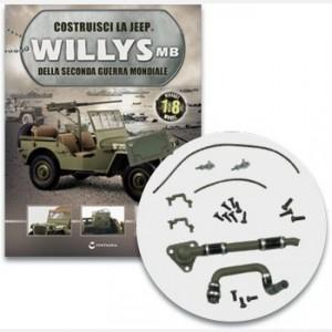Costruisci la Jeep Willys MB I manicotti del radiatore, i cavi della batteria e altri elementi