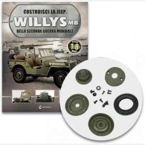 Costruisci la Jeep Willys MB Tutti i componenti della terza ruota
