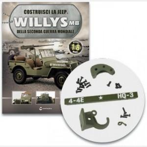 Costruisci la Jeep Willys MB Il paraurti anteriore e il gancio di traino