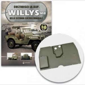 Costruisci la Jeep Willys MB Il pianale della Jeep