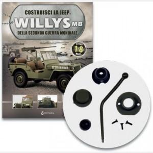 Costruisci la Jeep Willys MB I componenti della leva del cambio