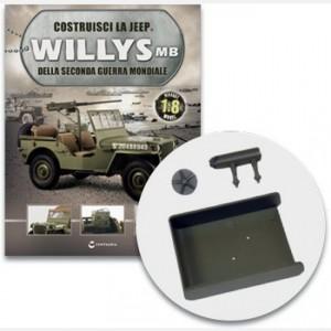 Costruisci la Jeep Willys MB Il serbatoio della Jeep