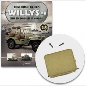 Costruisci la Jeep Willys MB La seduta imbottita del sedile del guidatore