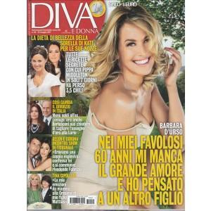 """Diva e Donna  Settimanale n. 20 - 23 maggio 2017 """"Barbara D'urso"""""""