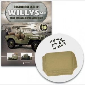 Costruisci la Jeep Willys MB Lo schienale imbottito del sedile del passeggero