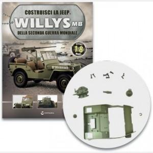 Costruisci la Jeep Willys MB Parafiamma, culla dell abitacolo e filtro della benzina