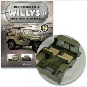 Costruisci la Jeep Willys MB Staffa, pedale, molla pedale per acceleratore- freno – frizione