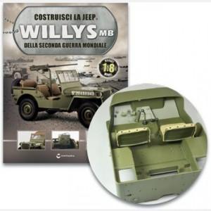 Costruisci la Jeep Willys MB Staffa,Filtro dell'aria,Manicotto filtro aria,piastra di rinforzo sin e dest