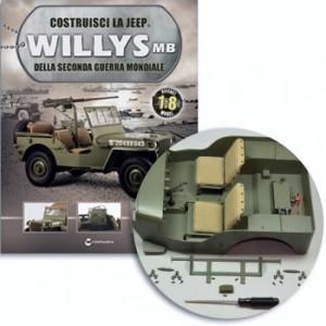 Costruisci la Jeep Willys MB Struttura sedile posteriore 1,Struttura sedile posteriore 2, vite