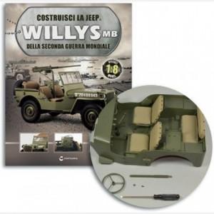 Costruisci la Jeep Willys MB Mozzo del volante,Volante,Coprimozzo del volante,vite