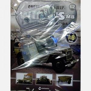 Costruisci la Jeep Willys MB Coperchio della radio, cerniera,Speaker, dado,Barra vano motore,viti
