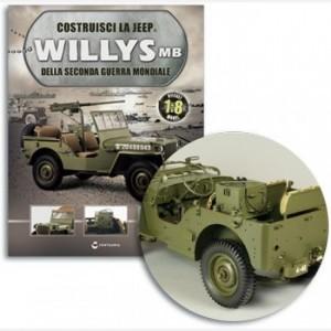 Costruisci la Jeep Willys MB Supporto centina,rondella,Passacavi per corda della capotte