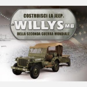 Costruisci la Jeep Willys MB Chiave antenna, guaina antenna, antenna, base isolante