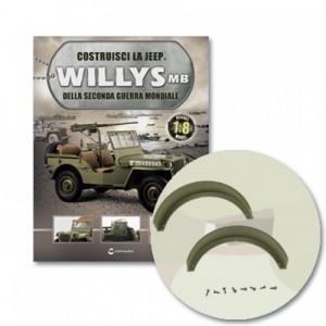 Costruisci la Jeep Willys MB Parafango rimorchio, viti