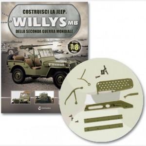 Costruisci la Jeep Willys MB Culatta sx e dx, maniglia, ingranaggi, otturatori, perno mobile e apertura