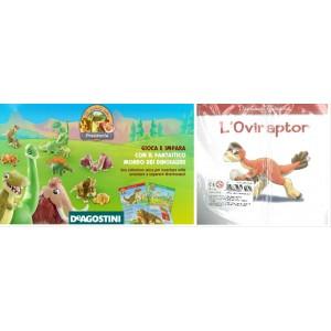 Gli Animali Della Preistoria - nr. 25 L'Oviraptor