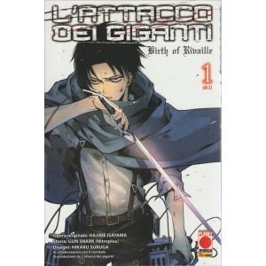 L'ATTACCO DEI GIGANTI - 1 (DI 2) - NUMERO 7 - PLANET MANGA - PANINI COMICS
