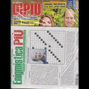 Enigmistica Piu'+ - Settimanale Dipiu' - n. 48 - 3 dicembre 2018 - 2 riviste