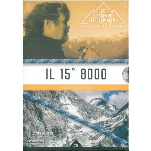 DVD il 15° 8000 - collana Le leggende dell'Alpinismo ed.Corriere della Sera