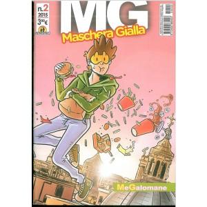 Mg Maschera Gialla n.2 /2015 : MeGalomane