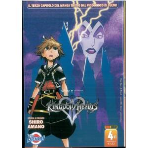 Manga KINGDOM HEARTS - Seconda serie vol. 4 Agosto 2015