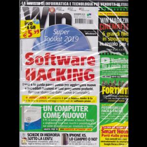 Win Magazine + Dvd 8Gb - n. 252 - dicembre 2018 - mensile - rivista + DVD
