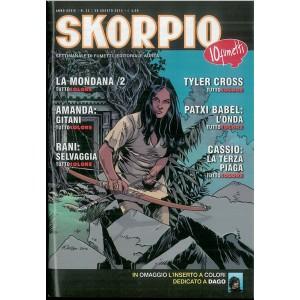 SKORPIO n.33 anno 2015 - settimanale di fumetti - editoriale Aurea