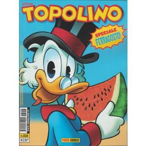Topolino numero 3116 - Panini Comics - Speciale ferragosto! - Disney