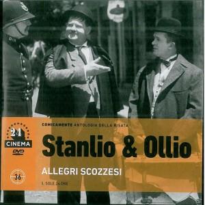 DVD Stanlio & Ollio: Allegri scozzesi DVD Gli Archivi Del Sole24Ore num.36