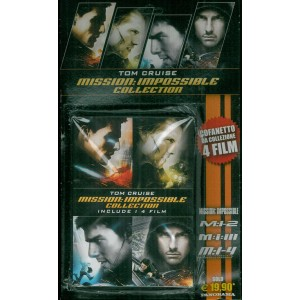 Dvd: Cofanetto da collezione Mission Impossible - 4 FILM - Tom Cruise